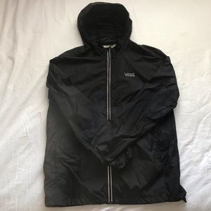 Vans Black Windbreaker